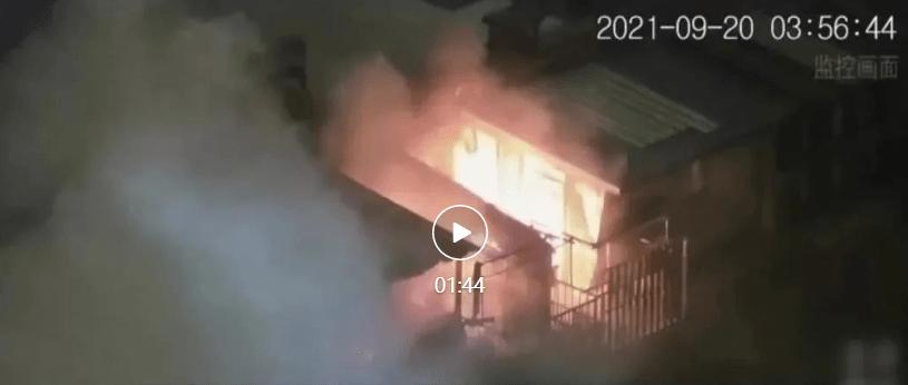 北京通州电动车火灾肇事者被刑拘