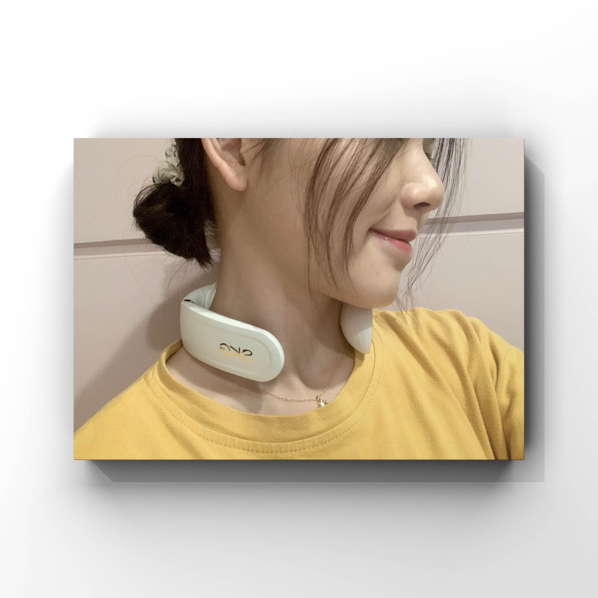 华为智选SKG智能颈椎按摩仪最新体验:打工人用它来讲好养生故事