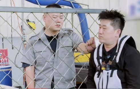 岳云鹏和张鹤伦在节目中的一番对话,道出了张鹤伦不温不火的关键