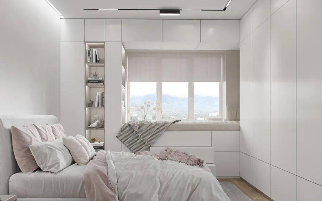 西安全屋定制:飘窗现在流行这么设计,既美观又实用!