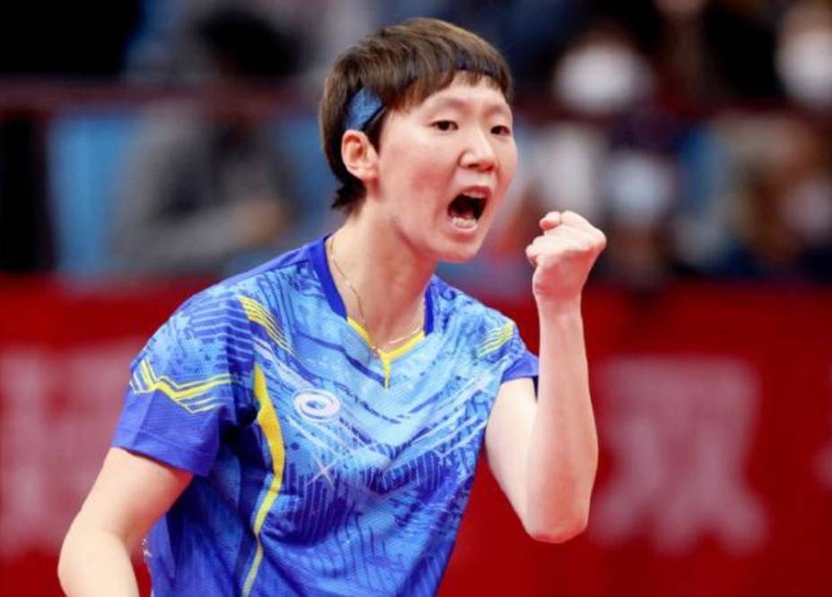 全运会乒乓球比赛落幕!14位世界冠军都有输球,王曼昱成最大赢家
