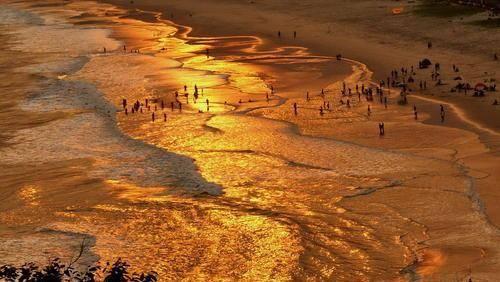 广西最美的四大海滩,夏天一起去吹海风吃海鲜!