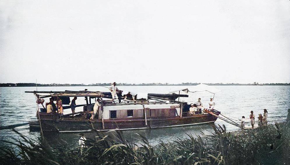 1910年,从上海前往苏州沿途所见,河边一幕让人唏嘘