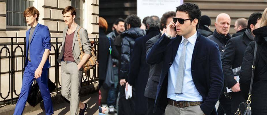 穿腻了黑白灰?5套暖男必看蓝色系穿搭,保暖又吸睛