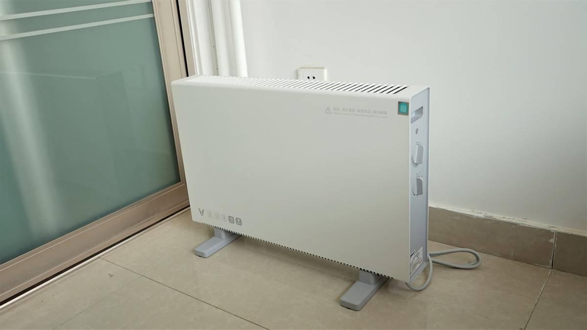 简约智能超轻便,云米对流电暖器体验