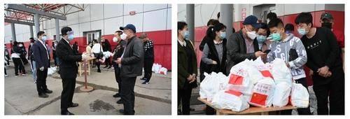 """中國駐哈巴羅夫斯克總領館向領區華商發放""""健康包"""""""