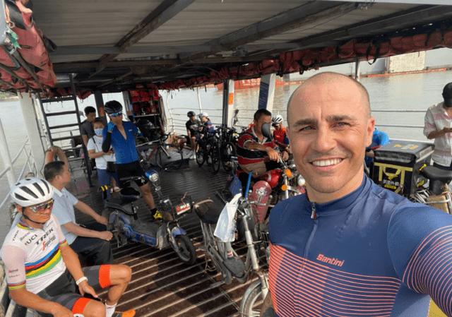 卡纳瓦罗单次骑行迫近150公里 均速达到每小时