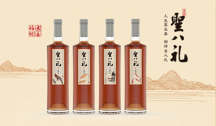 圣八礼山楂酒蕴藏强大生命力,成为健康果饮的典型代表