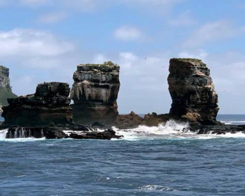 """错过,即是永远——加拉帕戈斯著名潜水地标""""达尔文拱门""""坍塌了......"""