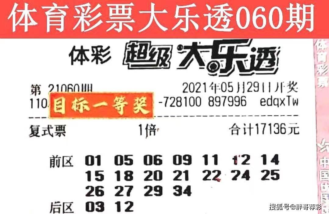 體彩大樂透21060期曬票開始了,快樂生活,提前欣賞實票
