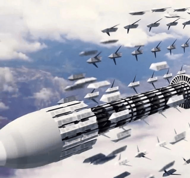 印度无人机75架组成蜂群,看起来有点简陋
