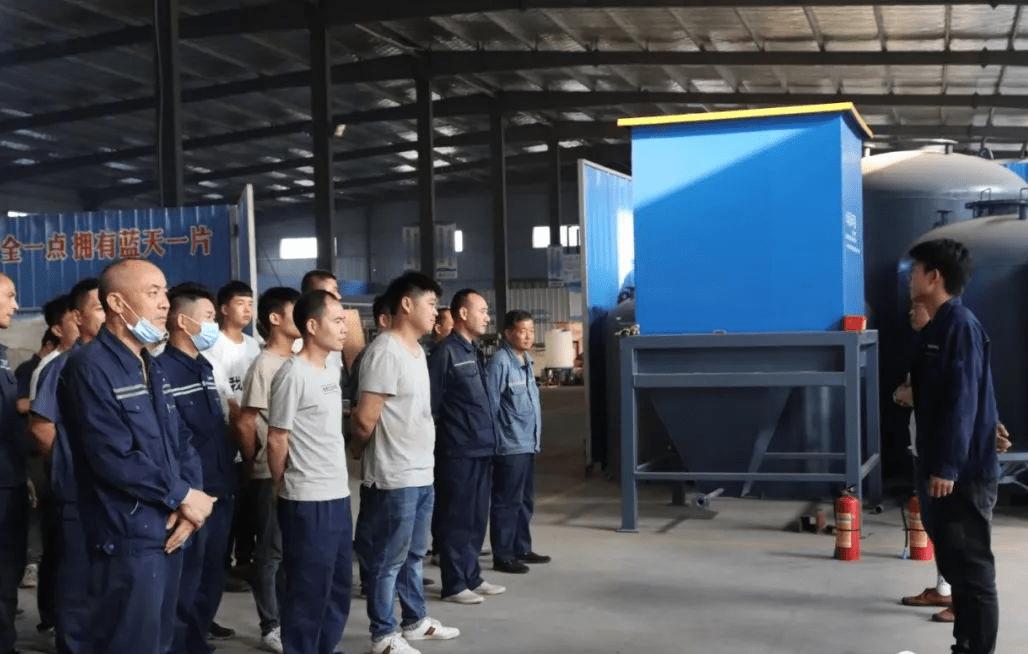 沁润泽环保举行安全生产月培训活动(图2)