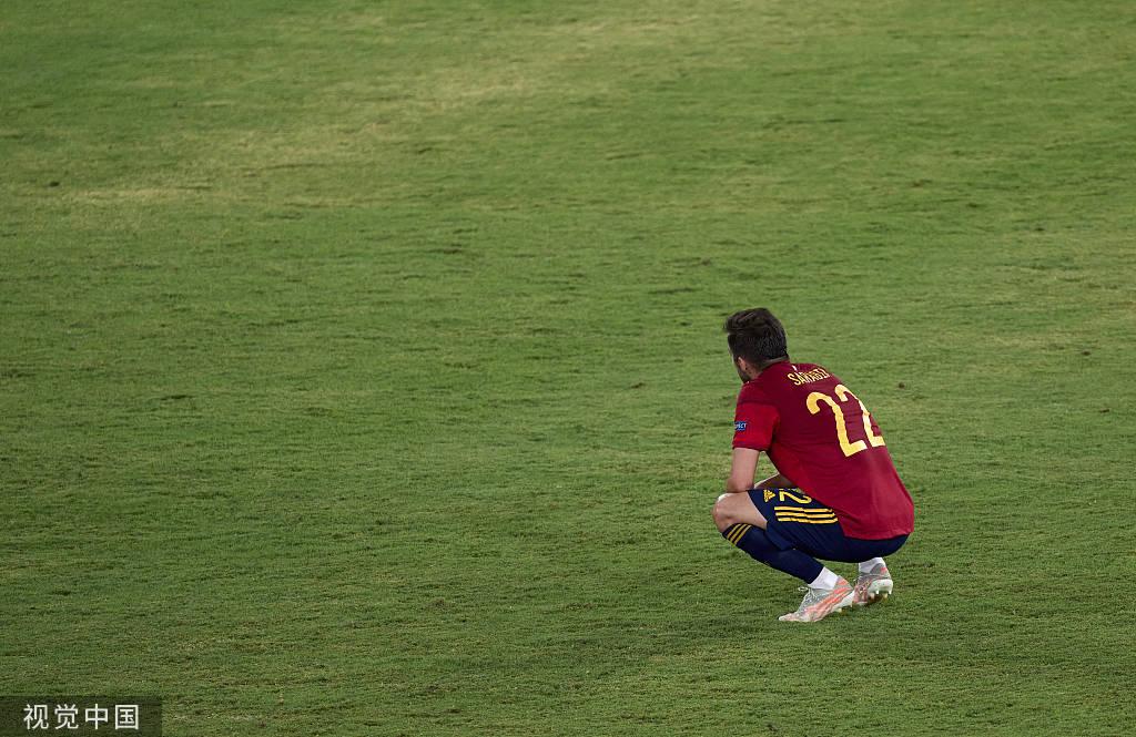 西班牙队近三场比赛两吞零蛋 超7成控球率竟无进