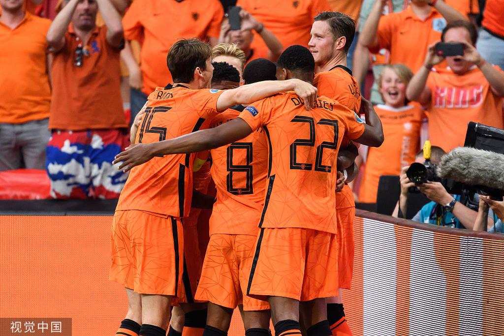 邓弗里斯破门德佩点射+失良机 荷兰2-0奥地利