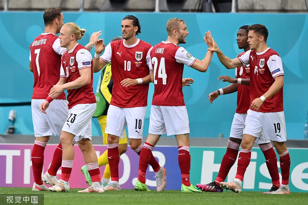 妖星破门后伤退阿瑙失良机 奥地利1-0乌克兰
