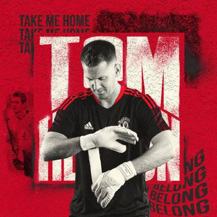 曼联官方:门将汤姆-希顿自在身回归加盟中甲成都蓉城 签约2年