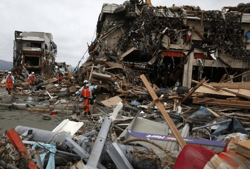 地震 日本 年間地震回数ランキング一覧 :