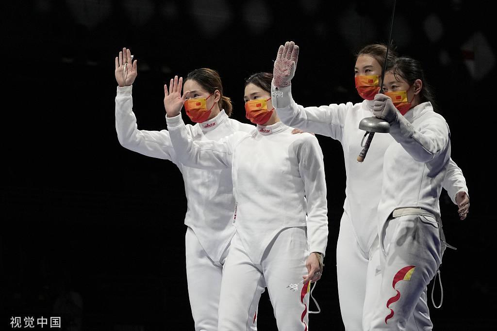 女子重剑团体赛:中国无缘决赛 奥运冠军孙一文伤退