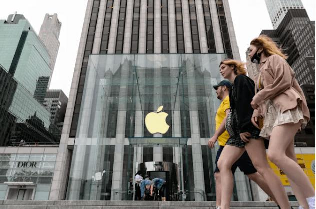 iPhone销量同比增长50%。苹果又一个创纪录的季度96v