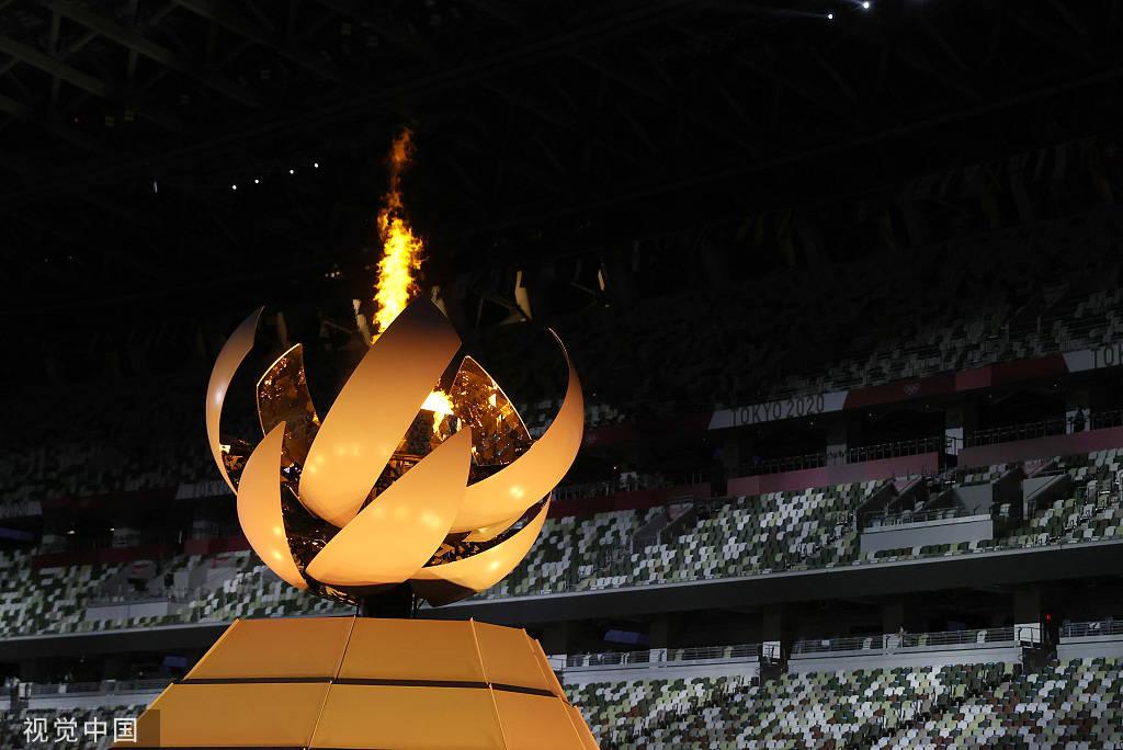 高科技点亮东京奥运闭幕式 马克龙邀各国3年后相聚巴黎_皇朝娱乐主管