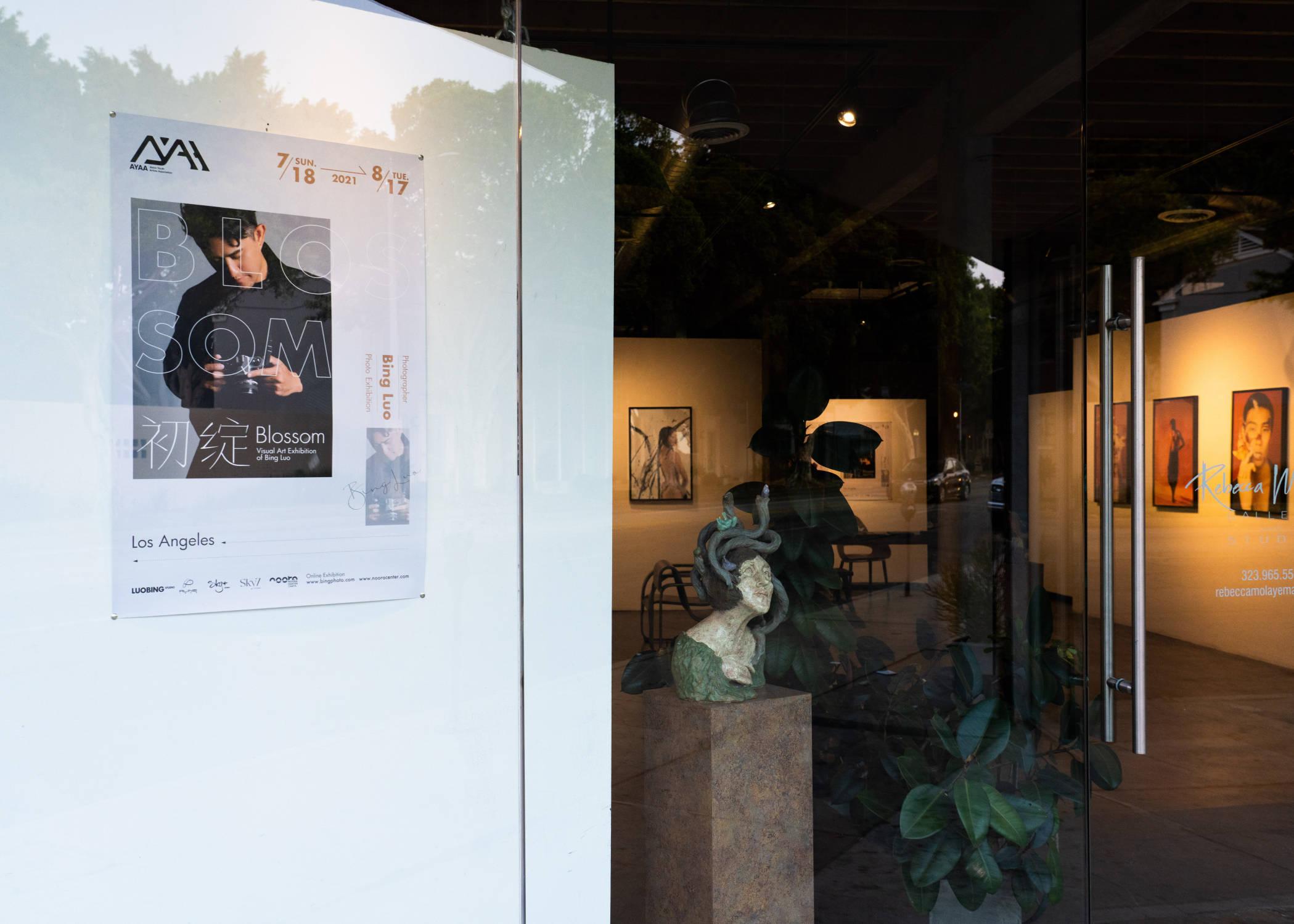 新锐摄影师罗冰个展《初绽》在洛杉矶举办 展现新概念东方文化美