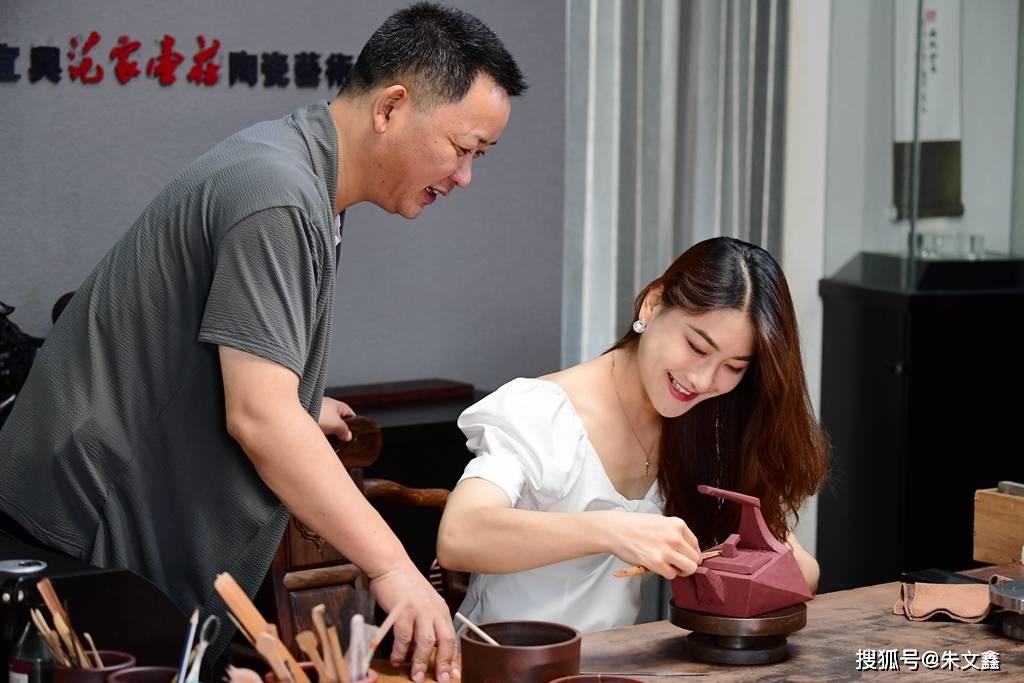 千年龙窑文化遗产到西望村传承创新,宜兴紫砂尽显一壶风范