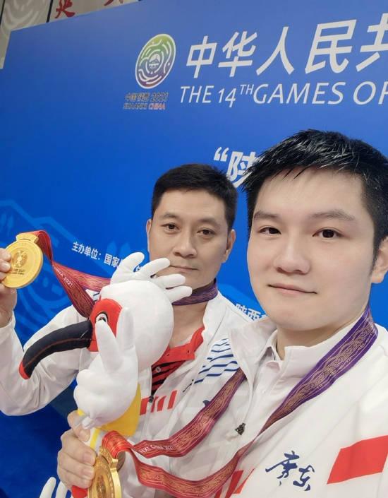 全运会乒乓球男单决赛:广东队樊振东4:0战胜山东队刘丁硕