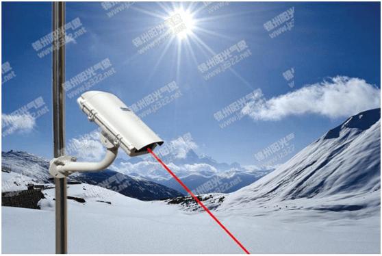 激光雪深传感器测量原理
