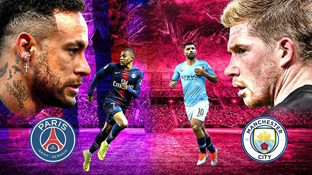 欧冠小组赛直播:巴黎圣日耳曼vs曼城 蓝月亮锋线给力,大巴黎或有压力!