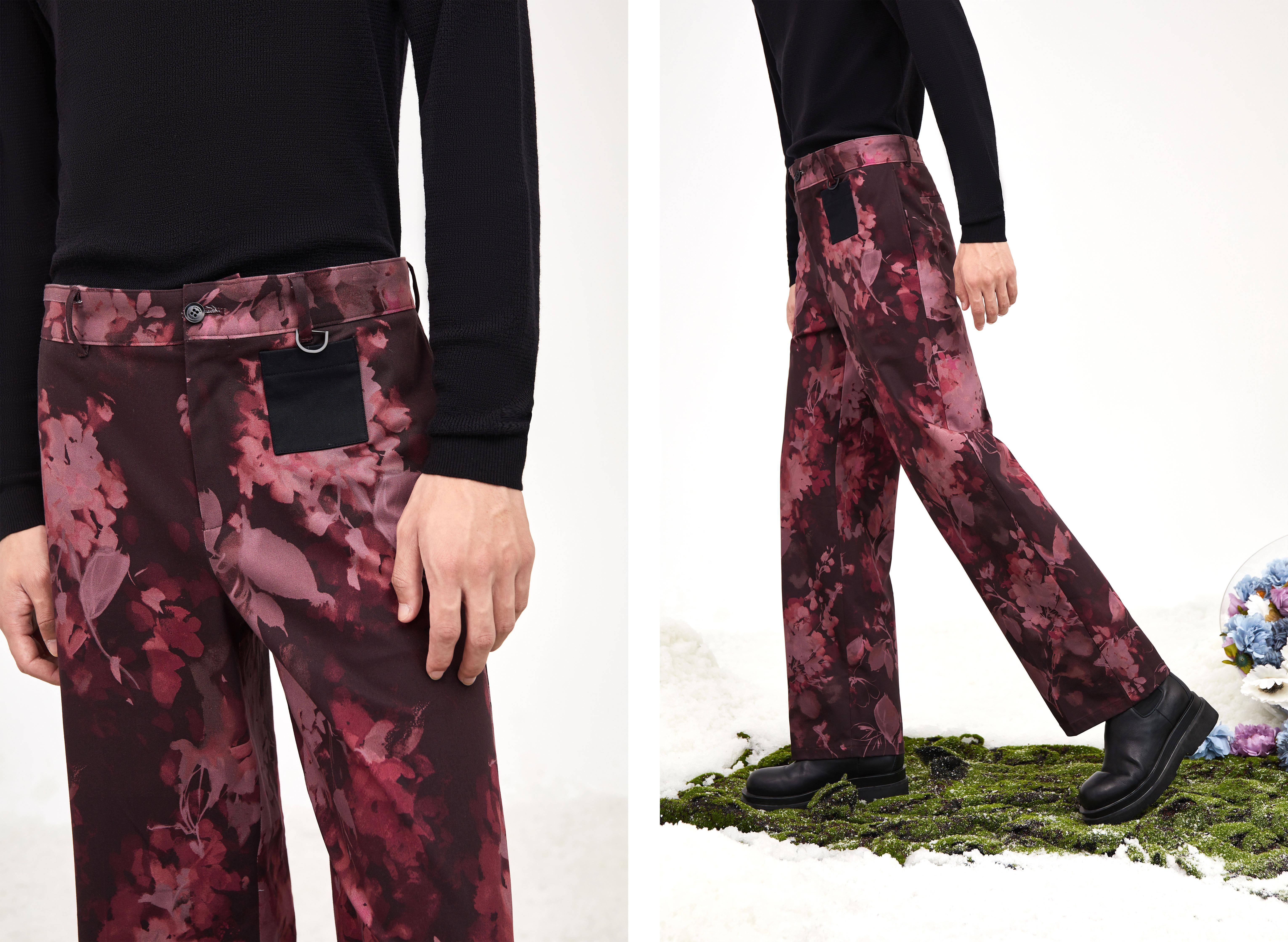 男裤专家九牧王联名前Gucci设计师小黑裤刚刚发布,立马成时尚穿搭新宠