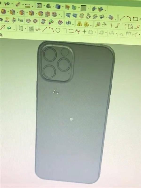 iPhone 12机模曝光:直边框首次回归、继续刘海屏的照片 - 9