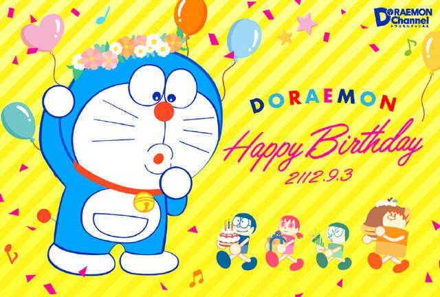 官方发贺图!庆祝蓝胖子哆啦A梦生日及「哆啦A梦」系列50周年