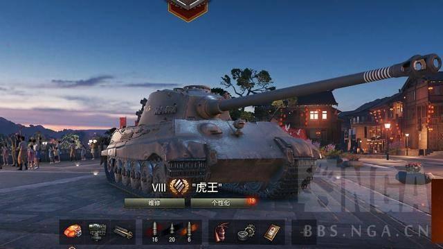 坦克世界:虎式和虎王坦克怎么玩?八级新霸主德系重坦虎王单车攻略