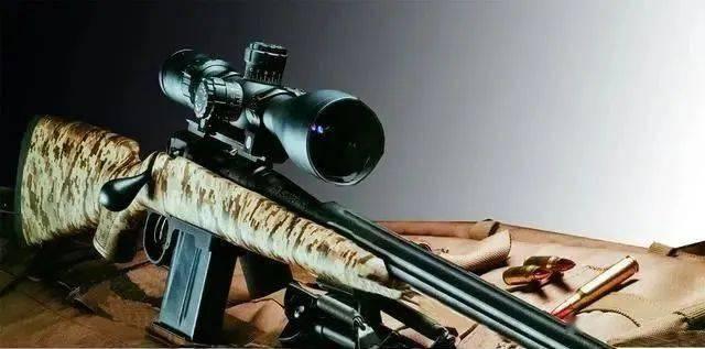 """自带""""皮肤""""的迷彩轻骑兵,精度怎么样?萨维奇M10 FCP-SR狙击步枪"""