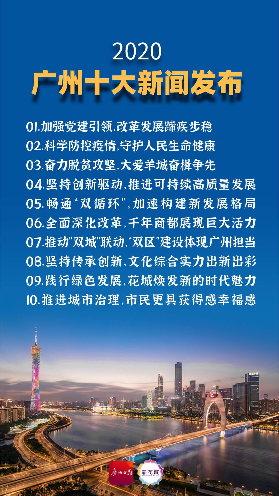 2020广州十大新闻出炉!广州日报多个作品入选!