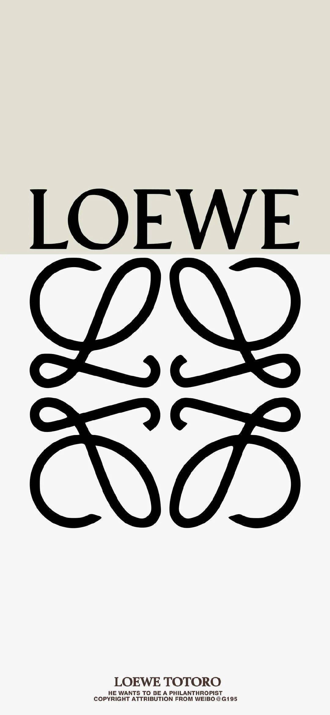 壁纸| |LOEWE带龙猫,已经发芽了...