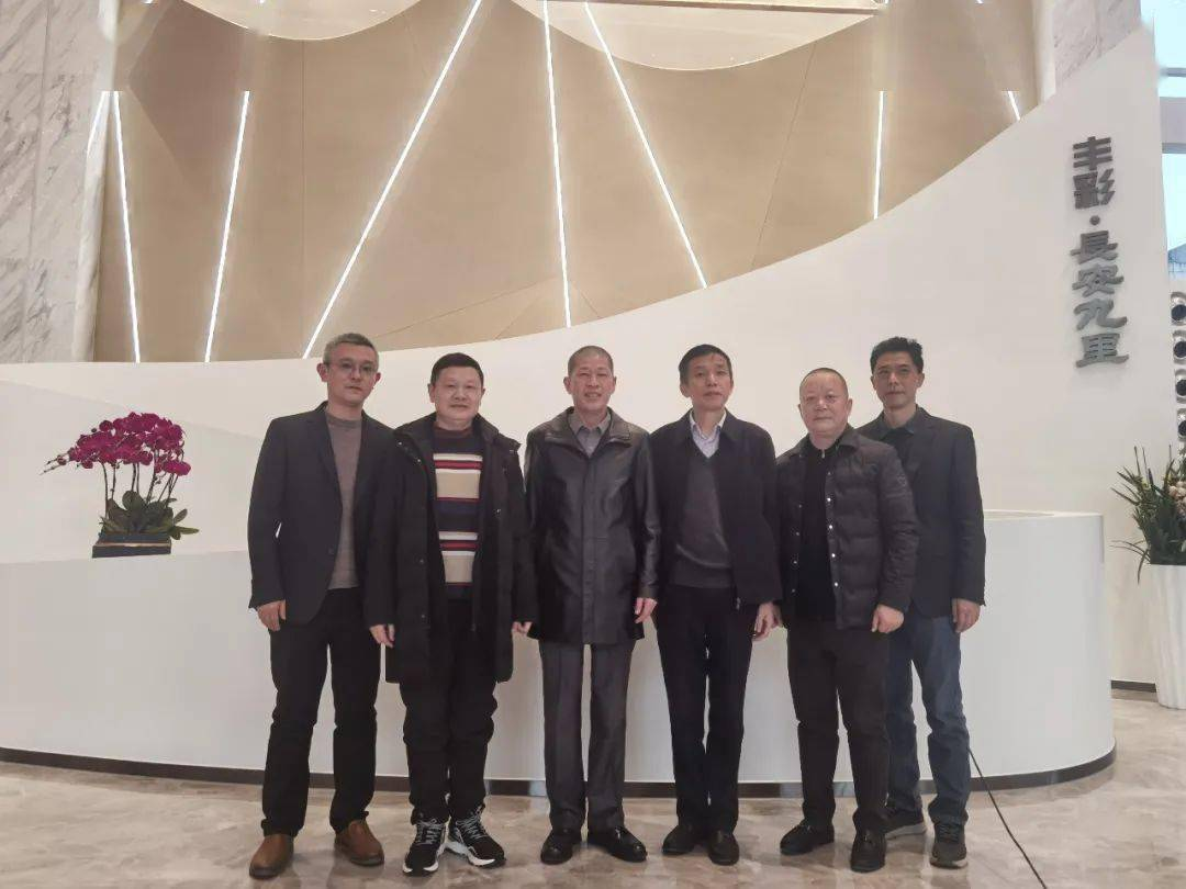 公司董事长刘率团访问湖南投资,拓宽工程渠道@小满快递