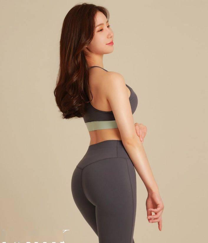 爱健身的小姐姐,这身材什么水平?