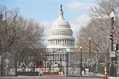 美国国民警卫队员 陆续撤离华盛顿