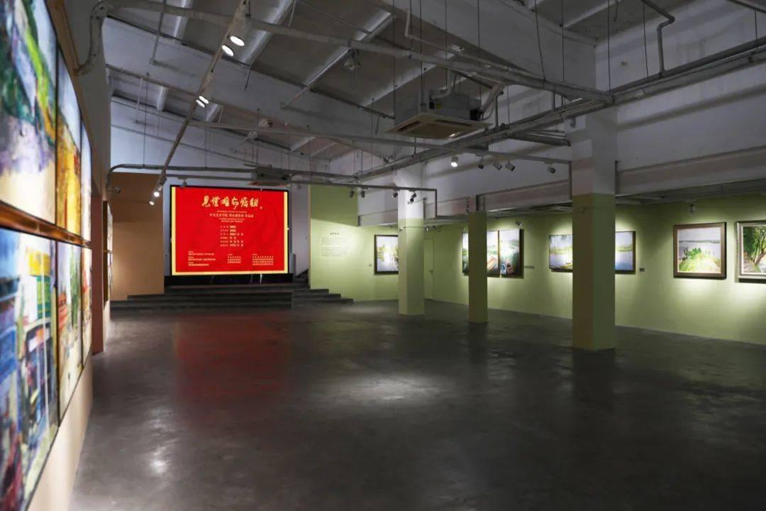 见证雄安崛起——中央美术学院雄安创作团作品展在江西景德镇中央美术学院陶溪川美术馆开幕