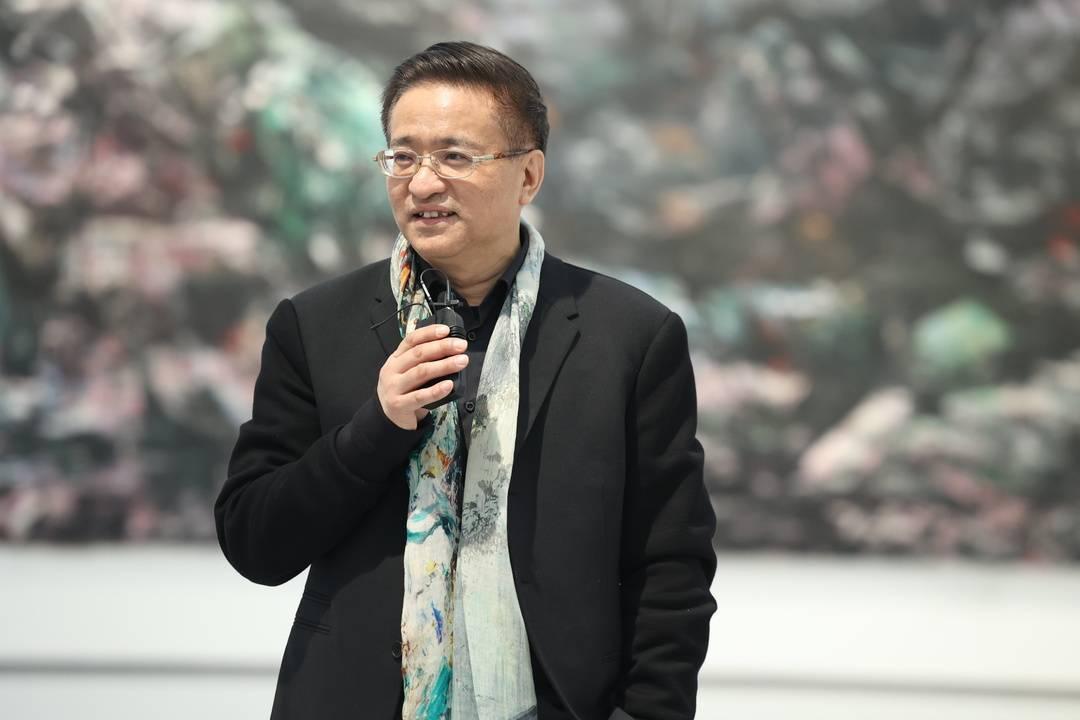 """一笔穿越四季,艺术家周思源绘出最炫""""蜀道"""""""