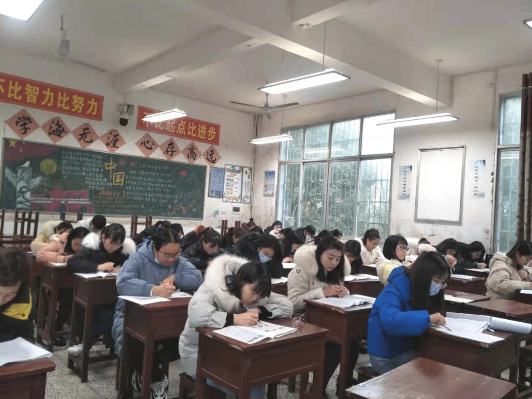 西湖一中举办青年教师专业考试