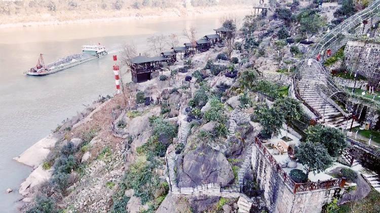 变废为宝 长江边的铜锣花谷3月中旬将对外开放