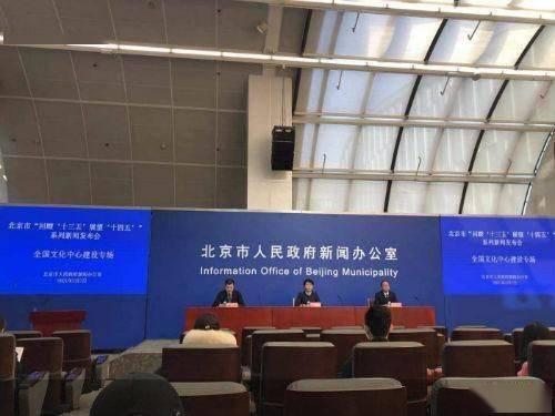 """晒出""""十三五""""成绩单 北京全国文化中心建设加速跑"""