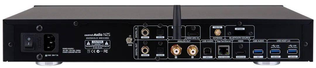 高德平台指定注册【新品速递】再推出平价全能机: Cocktail Audio N25 串流播放器