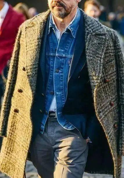 提升男人味必学的'粗糙绅士'穿搭指南 用西装搭出粗犷型男魅力 爸爸 第5张