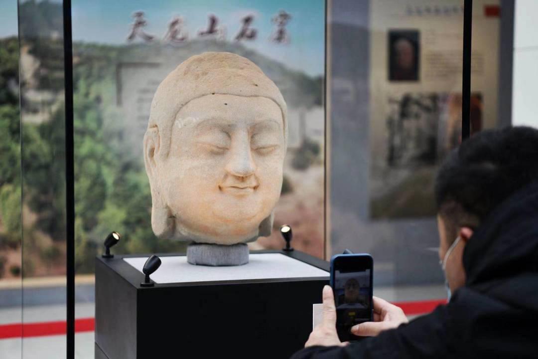 @在北京的山西人,春晚首次亮相的国宝天龙山石窟佛首,在这里可预约参观→  第5张
