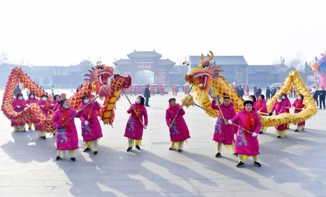 中国年在忻州:忻州古城真红火  第1张