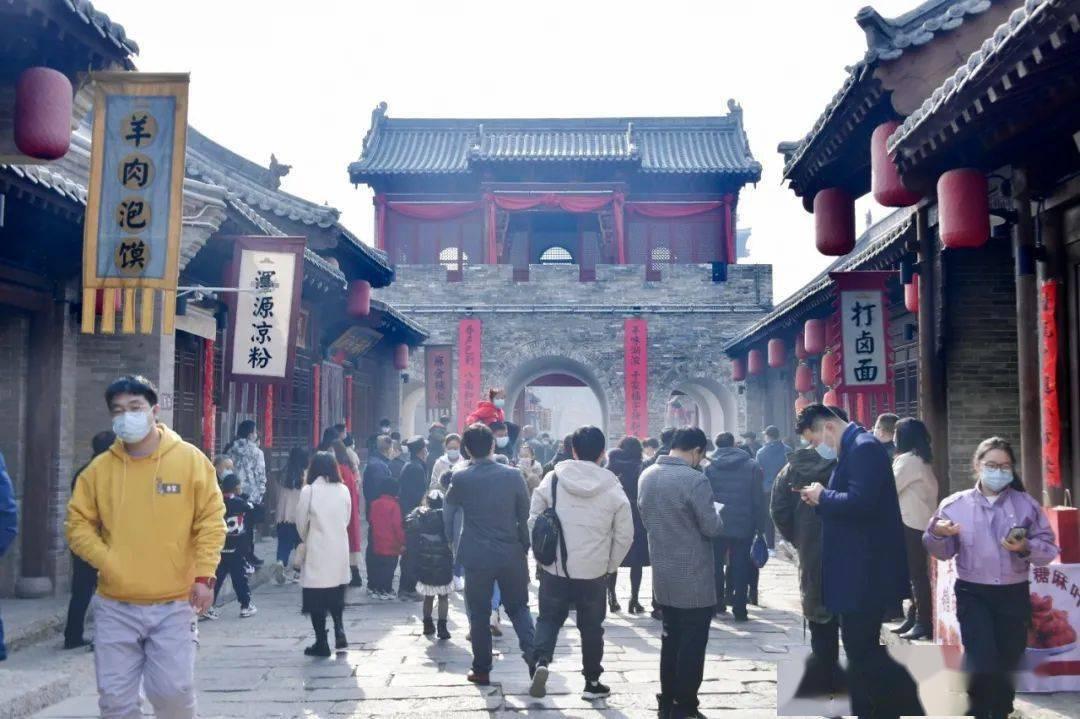 中国年在忻州:忻州古城真红火  第37张