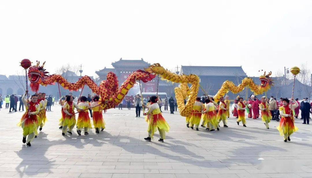 中国年在忻州:忻州古城真红火  第9张
